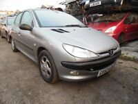 2002 PEUGEOT 206 GLX HDI (MANUAL DIESEL)(FOR PARTS ONLY)