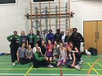 FIN AND FRIENDLY NETBALL CLUB NEEDS ADULT NETBALL PLAYERS OF ALL ABOLITIES. BEGINNERS WELCOME
