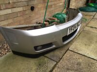 Vectra c sri front bumper with fog lights
