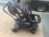 DOUBLE BUGGY FOR SALE - GRACO