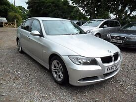 2007'57 BMW 318D SE 2.0TD-4'DOOR-new mot-127K-7 STAMPS-MANUAL--