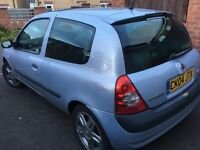 Silver Clio immaculate condition perfect 1st car