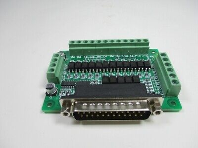 1pc Cnc Interface Board Optical Isolation Support Kcam4 Emc2 Linuxcnc