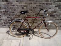 German Vintage 3 Speed Town Bike in Preserved Condition Size Large