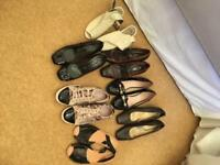Job lot women's shoes, 7 pairs (Next, F&F)
