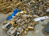 Yellow stock bricks