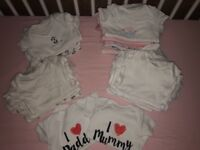 Baby girls vests