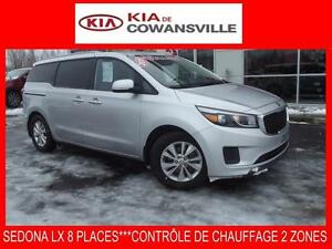 2015 Kia Sedona LX+***BLUETOOTH+8 PLACES***