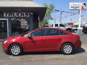 2011 Chevrolet Cruze PURCHASE AS LOW $100 DOWN !!