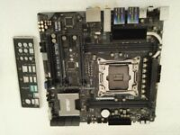 ASUS X99-M WS, Intel X99, S 2011-3 motherboard