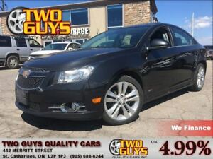 2014 Chevrolet Cruze 2LT R/S | LEATHER| SUNROOF | 6SPD