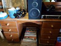 Pine bedroom dressing table