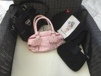 Girls bags selection - all originally purchased from Claire's