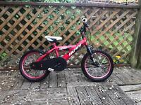 Huffy boy bmx age 3 to 7 years
