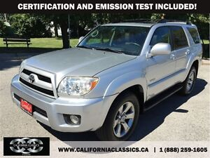 2007 Toyota 4Runner LIMITED V6 LEATHER SUNROOF - 4X4