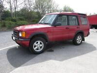 LANDROVER DISCOVERY TD5 GS TURBO DIESEL 5 DOOR MANUAL 7 SEATS 4X4 ONLY 120,786