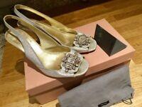 Miu Miu designer shoes