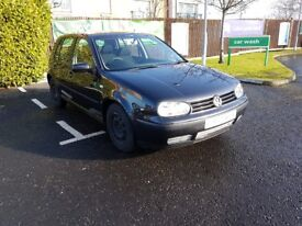 VW Golf SDI VERY Low Insurance MOT till September