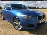 Bmw 118d m sport hpi clear,59,000 miles leather seats 2013