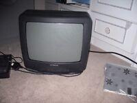 Hitachi portable tv and digi box