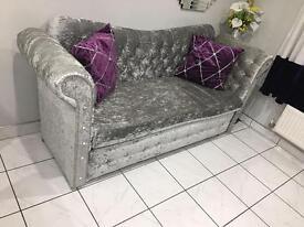 Designer Crush Velvet Sofa