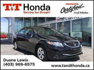 2013 Honda Civic LX* Local Car, Bluetooth, Heated Seats *