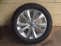 Golf mk7 brand new alloy with tyre