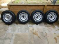 VW T5 wheels and tyres - Michelin & Hankook