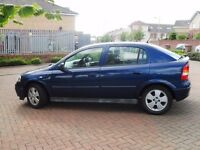 Great Condition Vauxhall Astra Elegance, 1.6, 5-Door, Hatchback, Petrol, Royal Blue, 2004