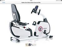 Brand new Kettler Giro Exercise Bike RRP £479