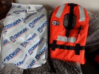 Adult LIFE jacket by CrewSaver