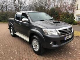 64REG 2014 year Toyota hilux ICON INVINCIBLE 2.5 D4D double cab pick up truck fsh 1 owner no vat