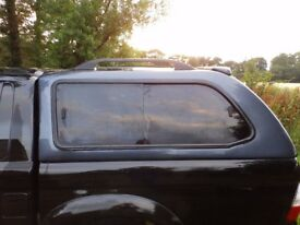 Mitsubishi L200 Hardtop Canopy for old shape L200 in Mitsubishi Grey/blue