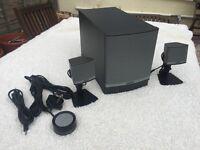 Bose Companion 3 Series II - 2.1-channel PC multimedia speaker system