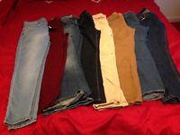 Ladies size 14 jeans bundle