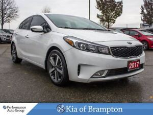 2017 Kia Forte EX LUXURY. LEATHER. LOW KM. ROOF. HTD SEATS