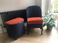 Lord loom weave chair and laundry basket