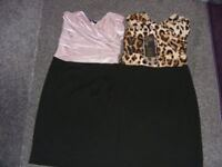 2 Strapless Stretchy Dresses 1 NWT & 1 Worn Once Both Size Small (6 To 8) Price Is For Both Dresses.