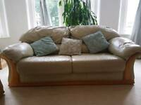 Sofa and Arm Chair leather clifton area