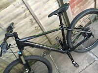 Cube LTD SL 2X 27.5 Mountain bike 2016 Hardtail MTB