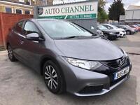 Honda Civic 1.6 i-DTEC S Hatchback 5dr (dab, bluetooth, premium audio)£8,995