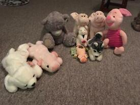 Soft toy job lot