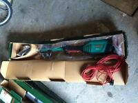 Bosch electric multi tool hedge trimmer and pole trimmer