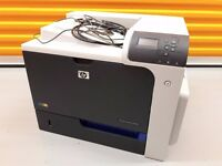 HP CP4025DN Colour Laser Printer with Full Duplex Printing and USB + Ethernet Network connections