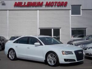 2013 Audi A8 4.0T PREMIUM / NAVI / B.CAM/ NIGHT VISION/ LOADED