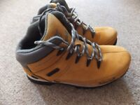 Timberland Mens Brown Leather Boots Size UK 5