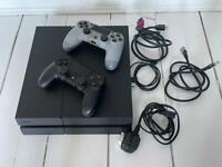 PlayStation 4 PS4, 2 Controllers, 6 Games