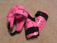 Head guard. Macho Dyna Martial Arts / Kick Boxing