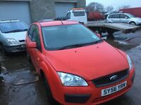 Ford Focus diesel parts available bumper bonnet doors wings