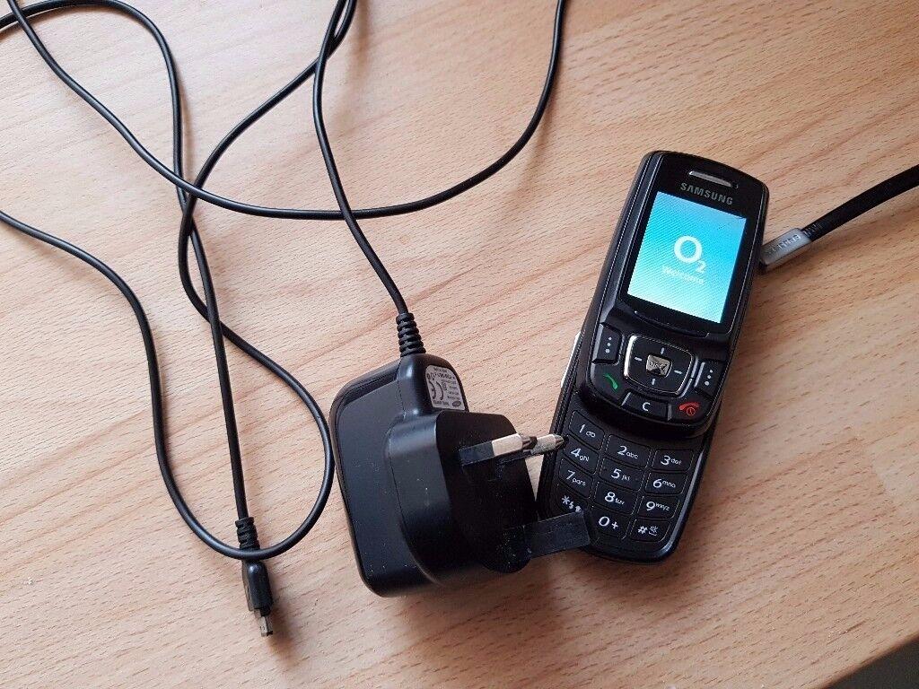 Samsung E370 Slide Phone